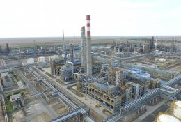 Winter diesel fuel ALTAY-45 production launched in Kazakhstan